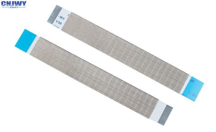 A Type 50 Pin FFC Ribbon Cable Tin Plated  Contact Material For Car Multimedia