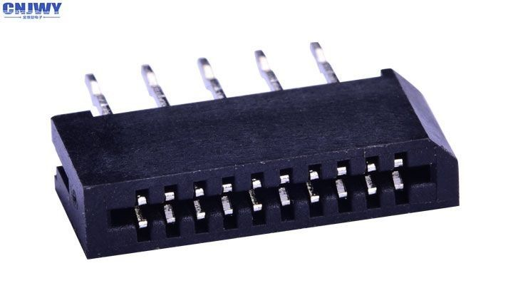 Double Contact Ffc & Fpc Connectors , Black 4 - 30 Pin Board To Fpc Connector