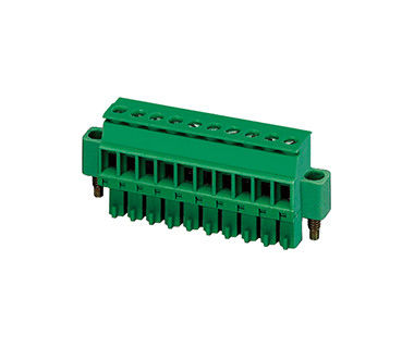 AC 2000V Surface Mount Terminal Blocks PA66 SN Plated 30-16AWG H18.8mm DIP With Screw