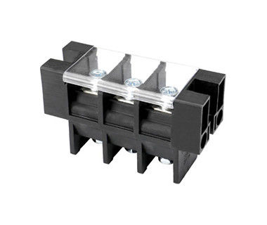 Rectifiers Black Terminal Block With Cover Protection Customized Pins