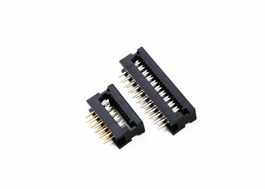 28AWG Tel Sinyal İletimi ile 1.27mm Pitch 10 Pin Dip Soket